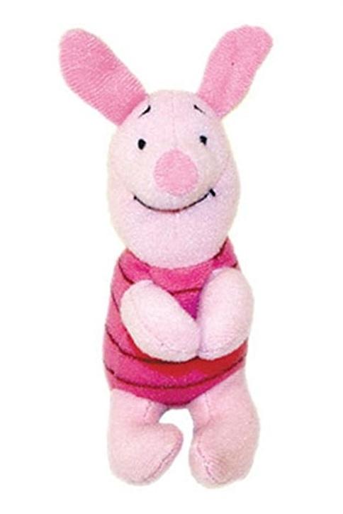 Disney Piglet Mandallı Peluş Oyuncak 12 Cm Renkli